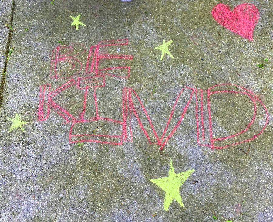 Be kind chalk