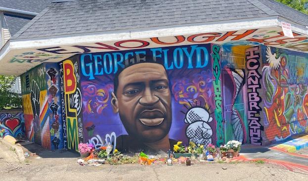 Milwaukee George Floyd Mural
