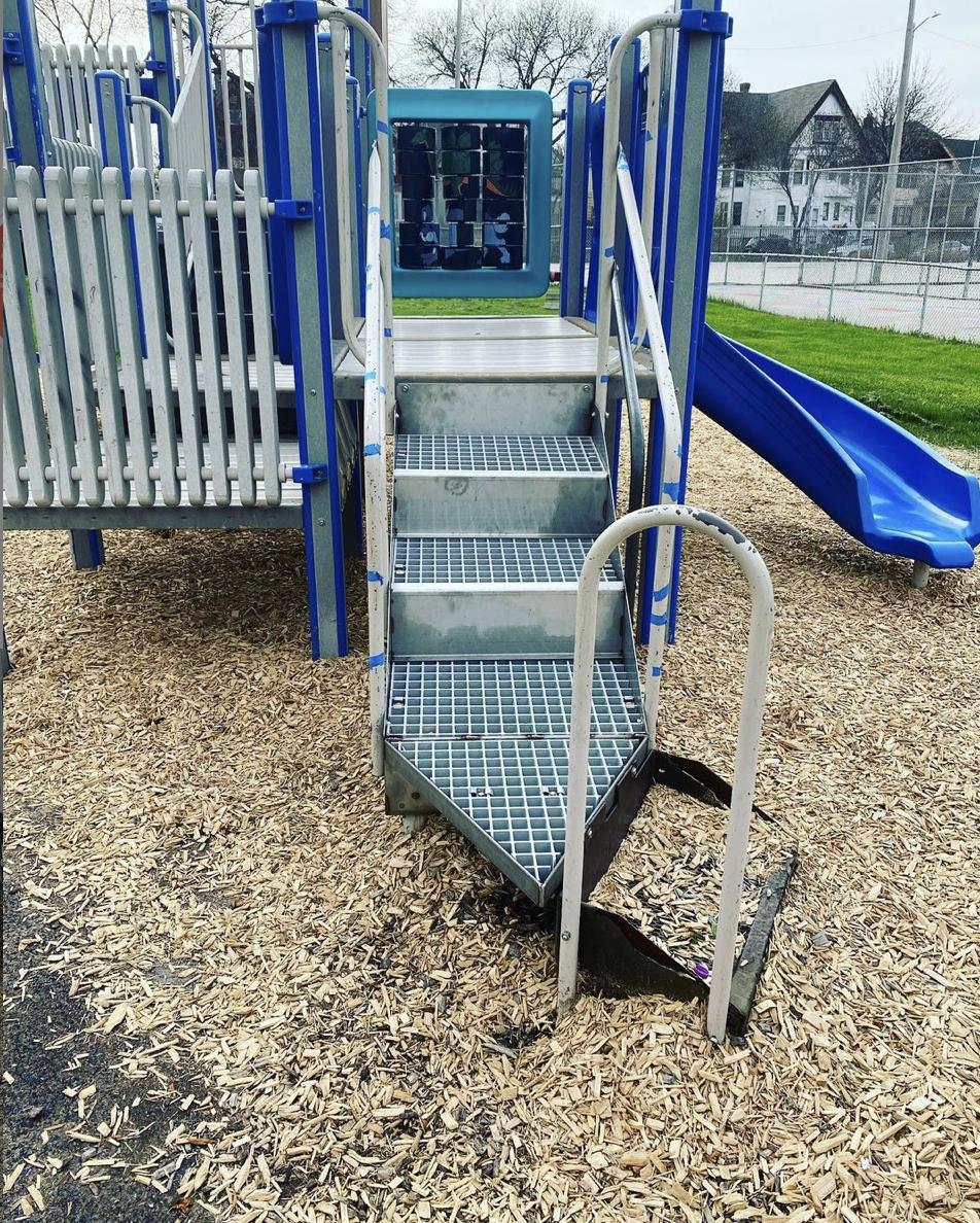 Stairs on Playground